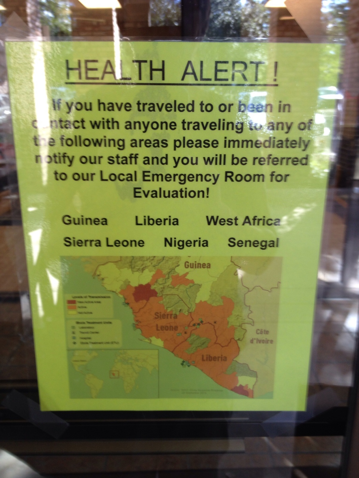 Health Alert!
