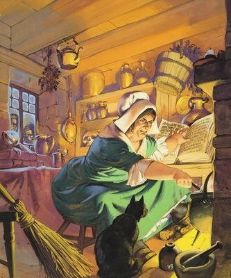 """Witch's Brew"" by Angus McBride"