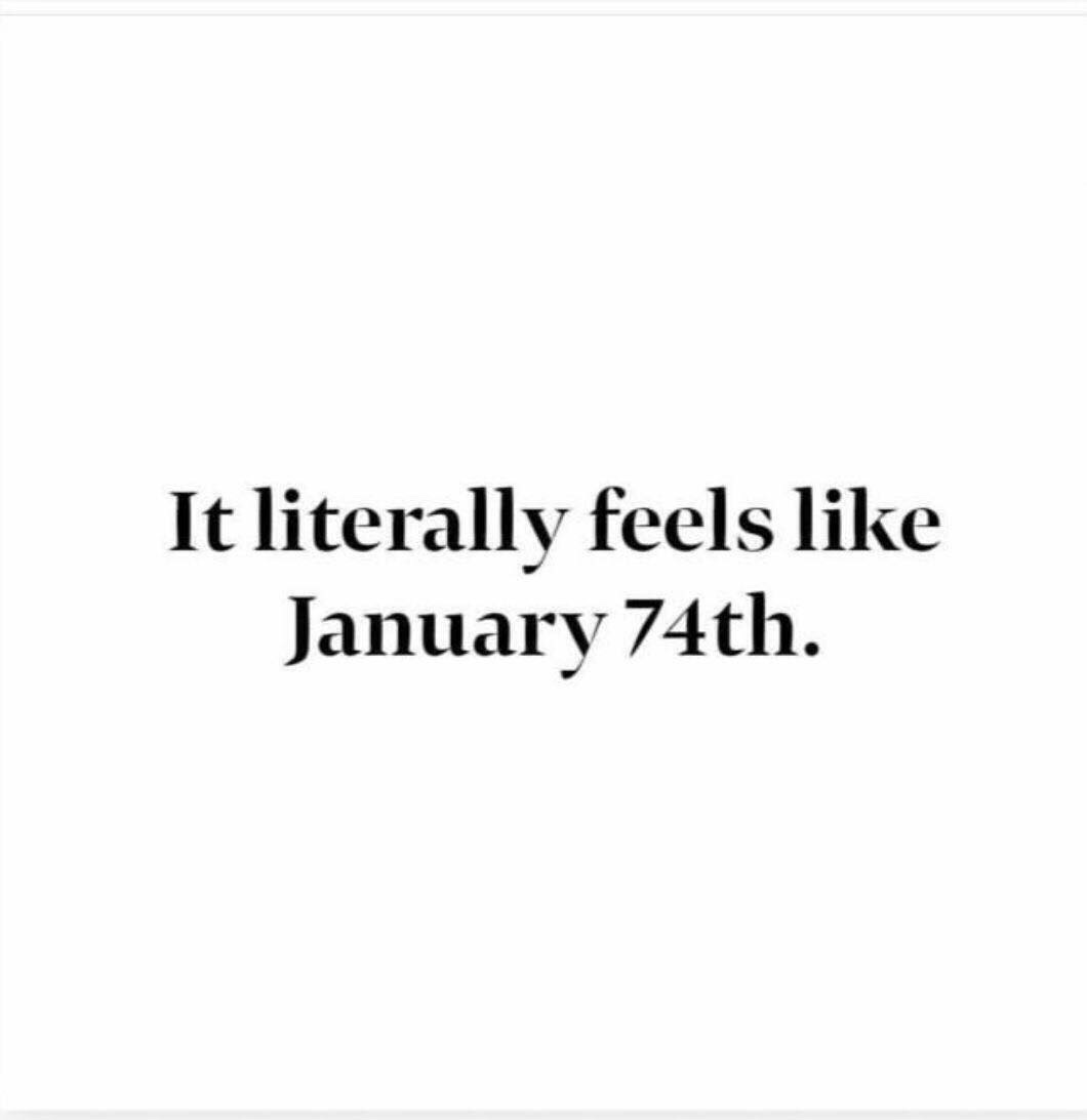 What's Up WithJanuary?